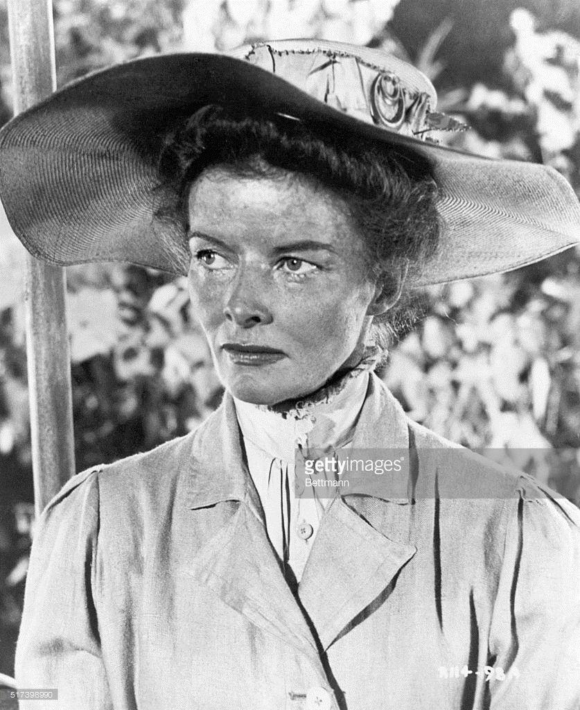 Rose Sayer - Katharine Hepburn in 'The African Queen.'
