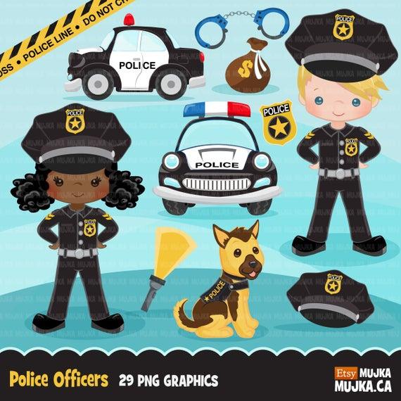 Cops Police Officer Clipart Boy Girl Police Car K9 Police Dog Clip Art Profession Graphics K9 Police Dogs Police Dogs Police K9