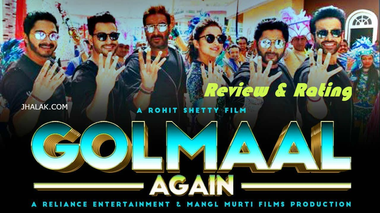 Golmaal_again movie review rating