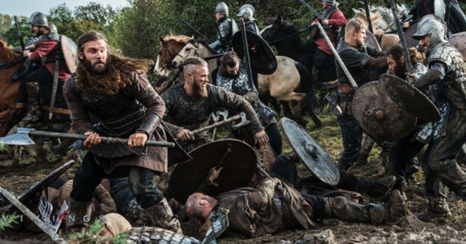 great battle scene! | Viking battle, Vikings ragnar, Vikings