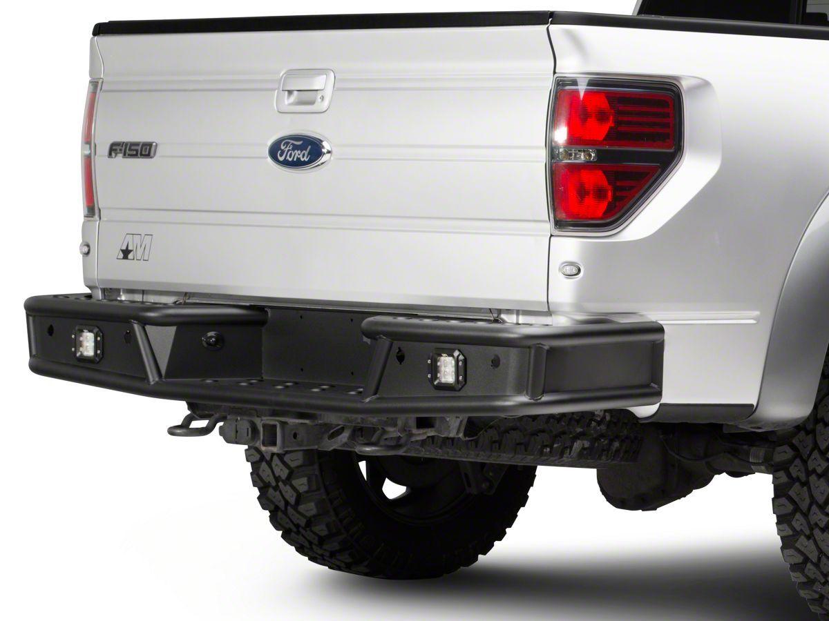 Body Armor 4x4 Desert Series Rear Bumper 09 14 F 150 In 2020 Flush Mount Led Lights Flush Mounts Bumpers