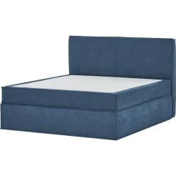 Photo of Box spring bed Boxi ¦ blue ¦ Dimensions (cm): W: 180 H: 125 beds> Box spring beds> Box spring beds 180x
