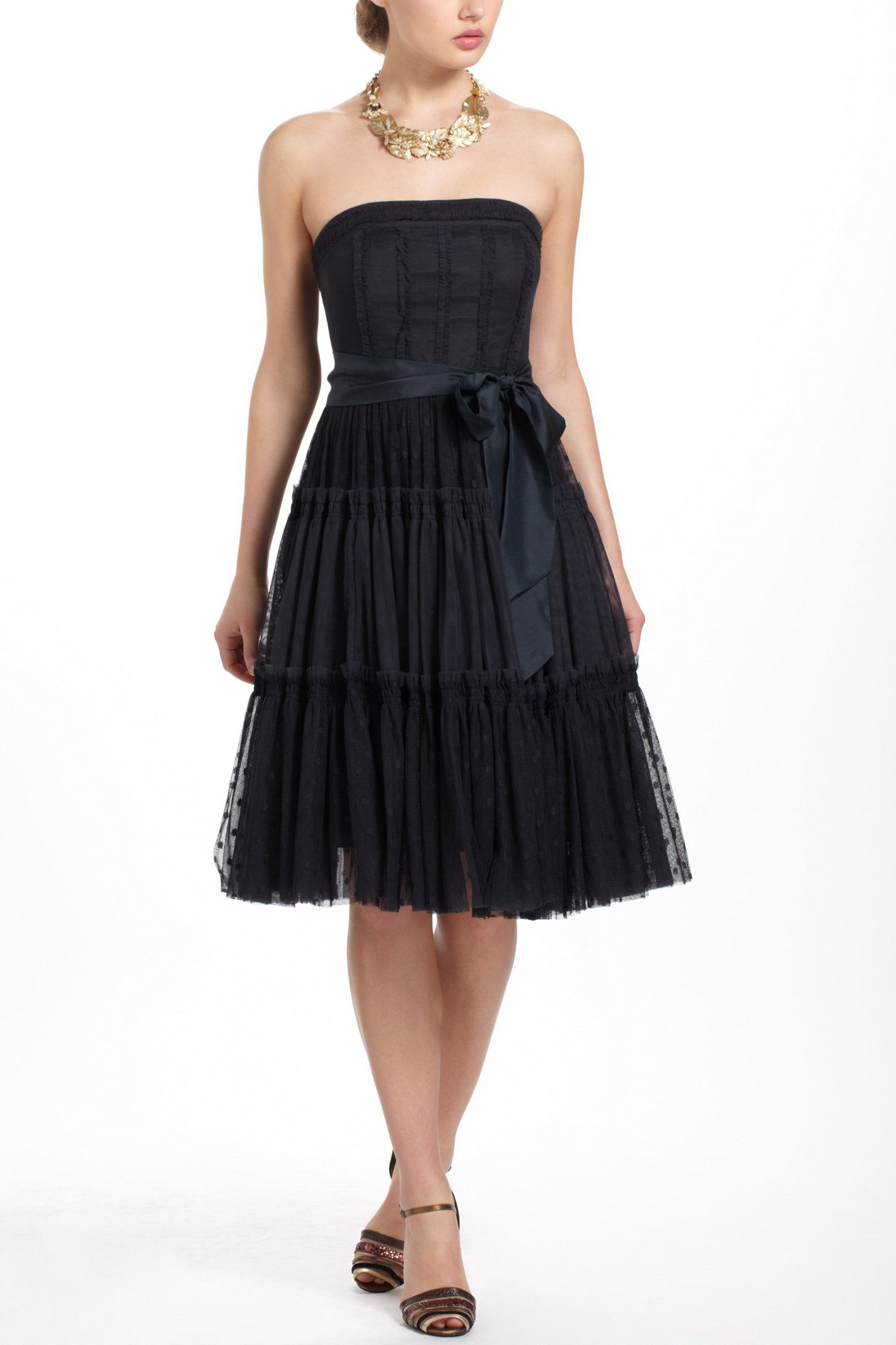 Ypres tulle dress anthropologie holiday christmas