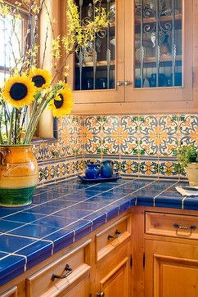 25 stunning colorful kitchen design ideas tuscan kitchen design tuscan kitchen mexican style on kitchen ideas colorful id=28621