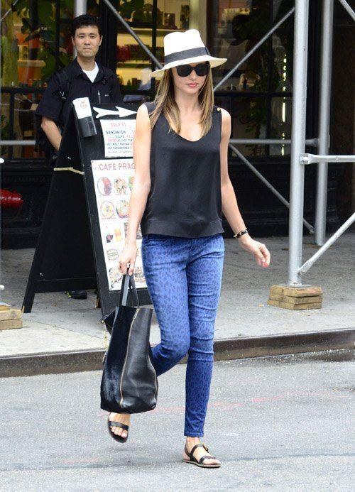Miranda Kerr Shopping at Sephora in NYC