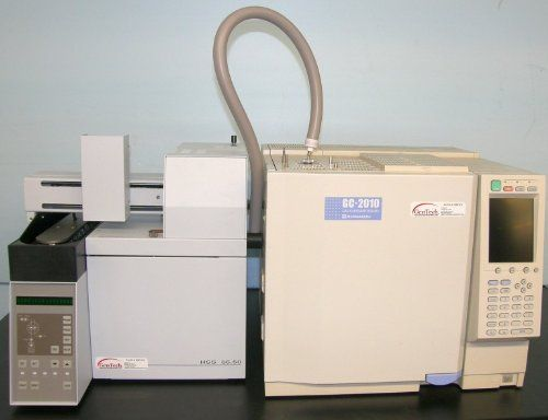 Industrial & Science: Shimadzu GC-2010 with New HSS 8650