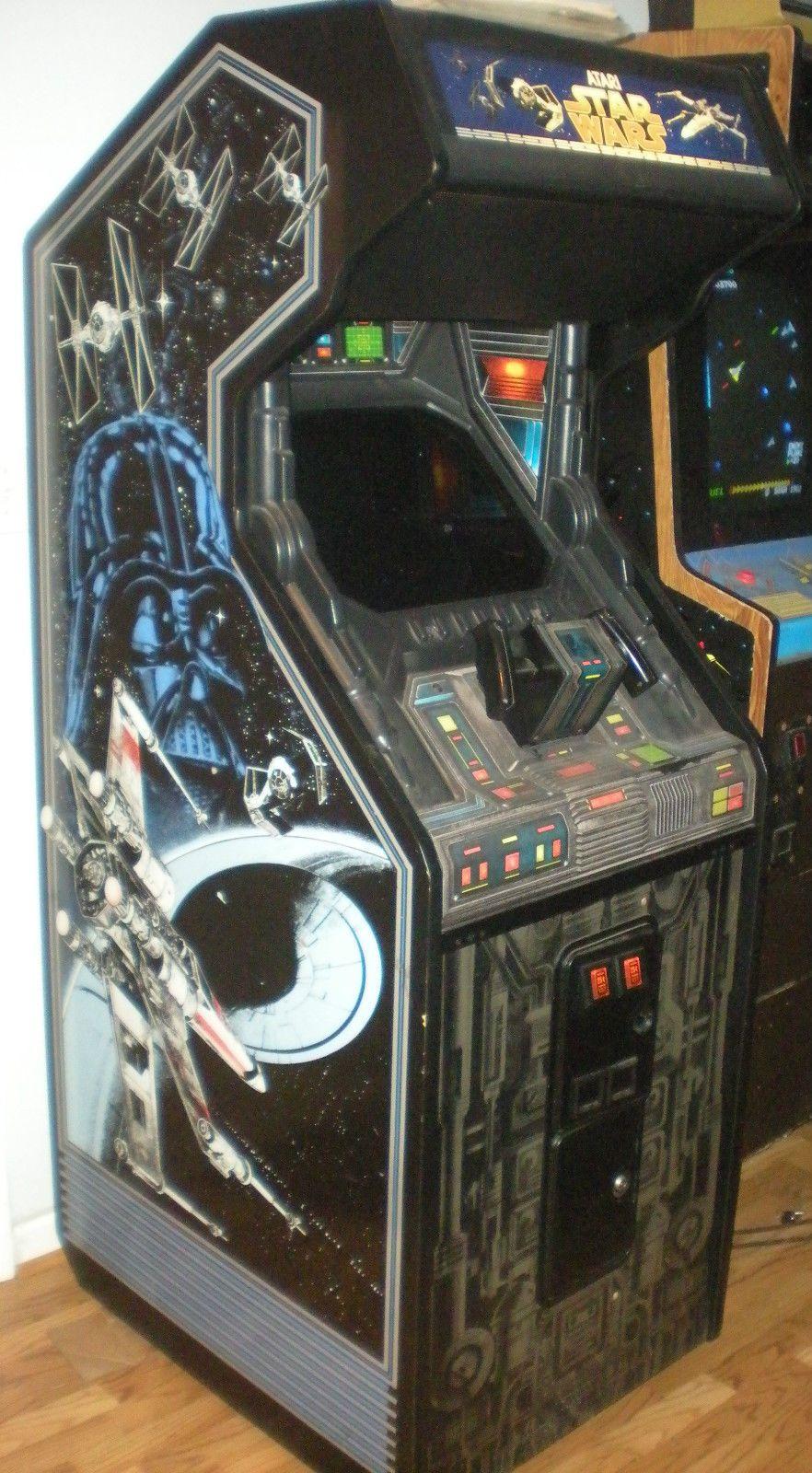Star Wars Atari 1983 Dedicated Arcade Machine AWESOME