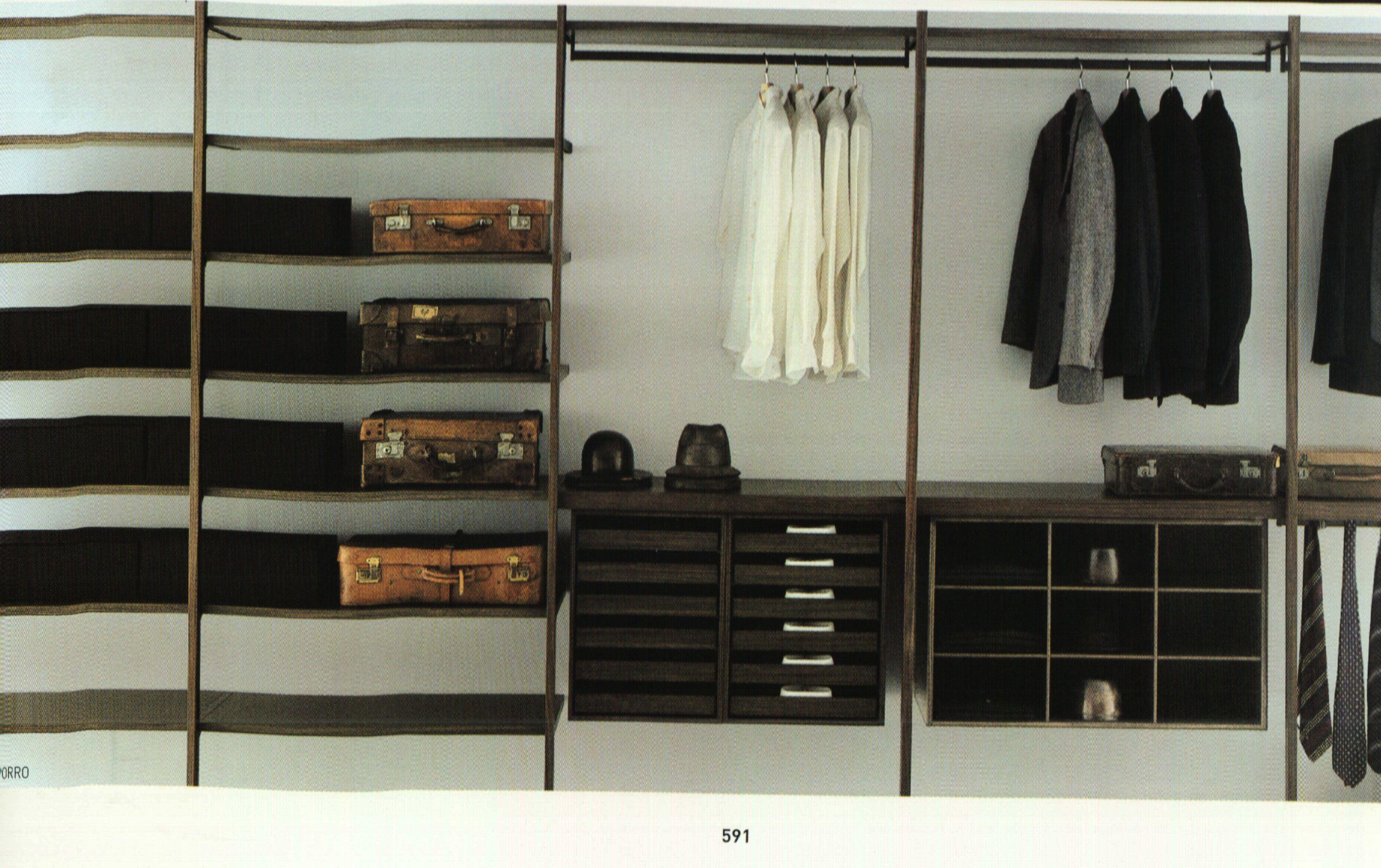 Mens essentials closet