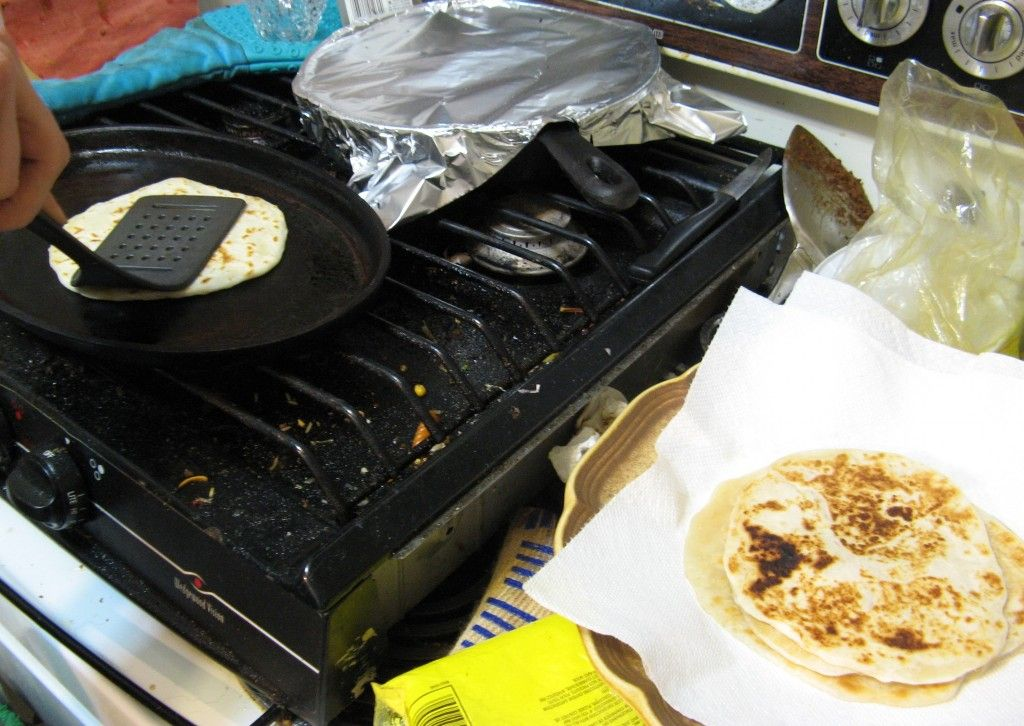 Tortilla Making Station
