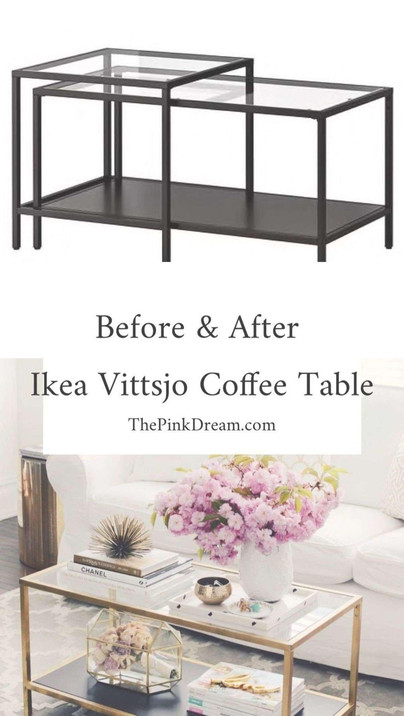 Details Of Ikea Vittsjo Coffee Table Hack Step By Step Ikea Vittsjo Tab