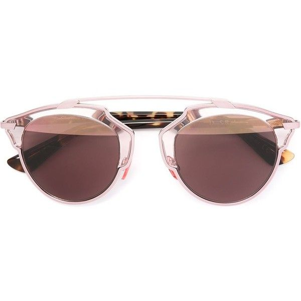 fd078832063 Dior Eyewear So Real Sunglasses (£435) ❤ liked on Polyvore featuring  accessories