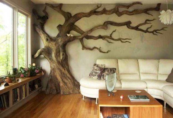 La décoration en bois - des idées et des exemples inspirantes