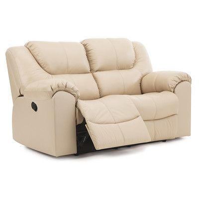 palliser furniture parkville reclining loveseat upholstery leatherpvc match tulsa ii bisque - Palliser Furniture