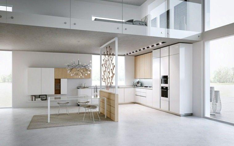 Diseño de cocinas modernas - 100 ejemplos geniales | Diseño ...