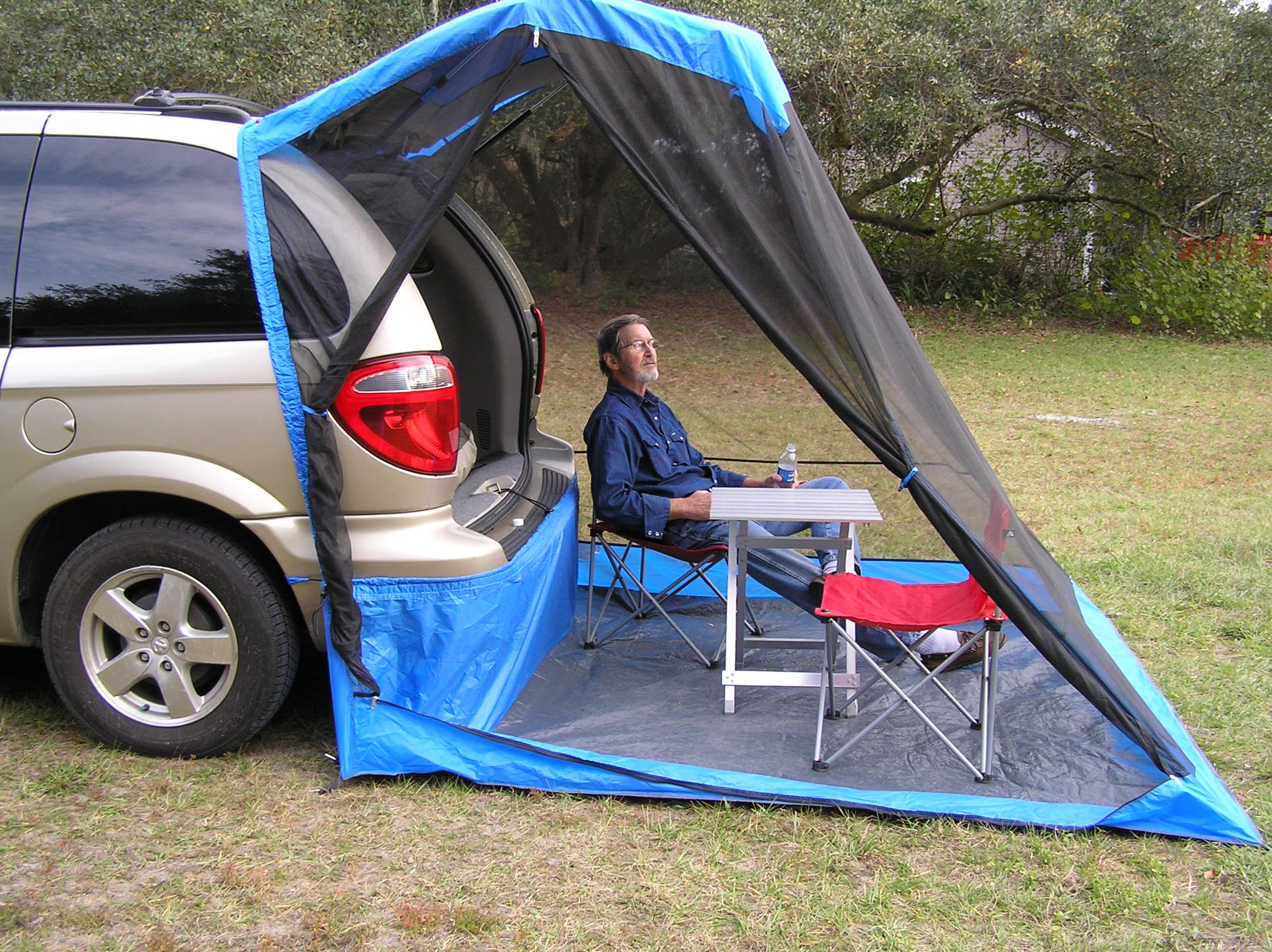 Photo of Tailgate Tent Comparison: Tail Veil vs. DAC Explorer 2