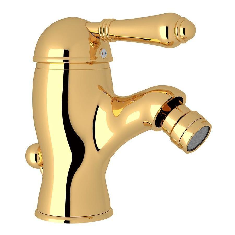 Rohl Country Bath Inca Brass Horizontal Spray Bidet Faucet