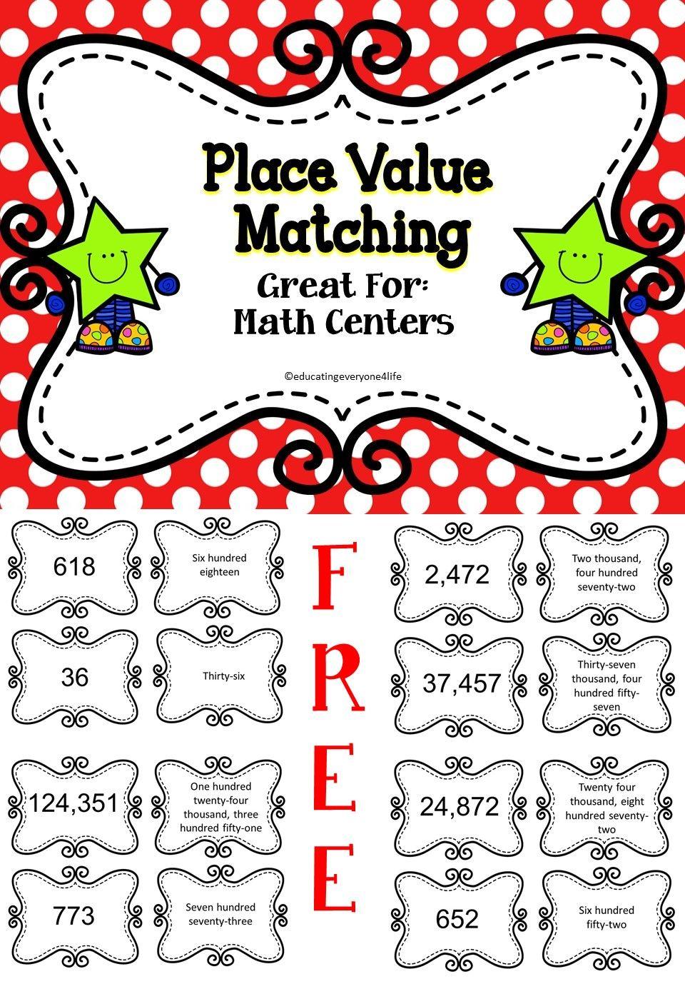 place value miss johnson math place value elementary math third grade math. Black Bedroom Furniture Sets. Home Design Ideas