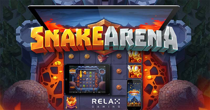 Review and Where to Play the Snake Arena Slot from Relax