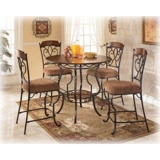 Marvelous Nola Pub Table 4 Bar Stools Dining Tables Counter Bralicious Painted Fabric Chair Ideas Braliciousco