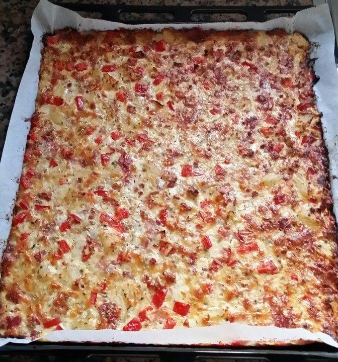 Schüttelpizza low carb von Jacky2309   Chefkoch