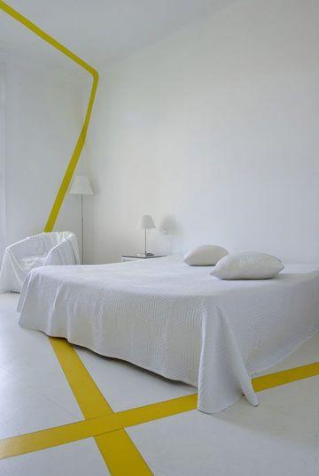 Déco : du blanc pour une chambre zen où on dort bien | Chambre jaune ...