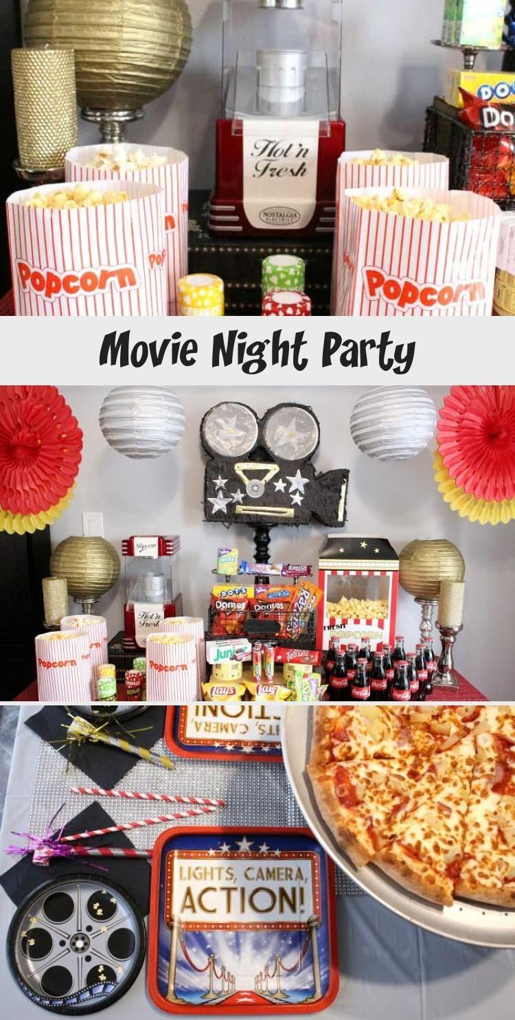 Fur Den Nachsten Geburtstag Veranstalten Wir Eine Movie Night