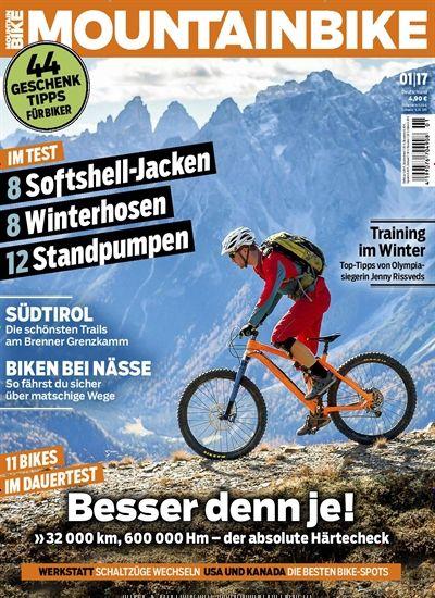 Training im Winter. Gefunden in: MountainBIKE - epaper, Nr. 1/2017