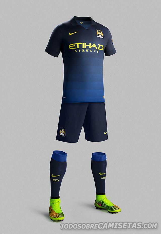 afeafdedd Nike ha presentado el nuevo uniforme de visita del Manchester City ...