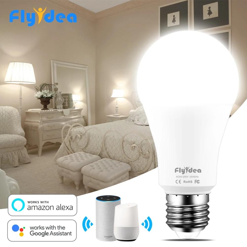 Wifi LED Light 110V 220V APP Voice Control Smart Lamp with