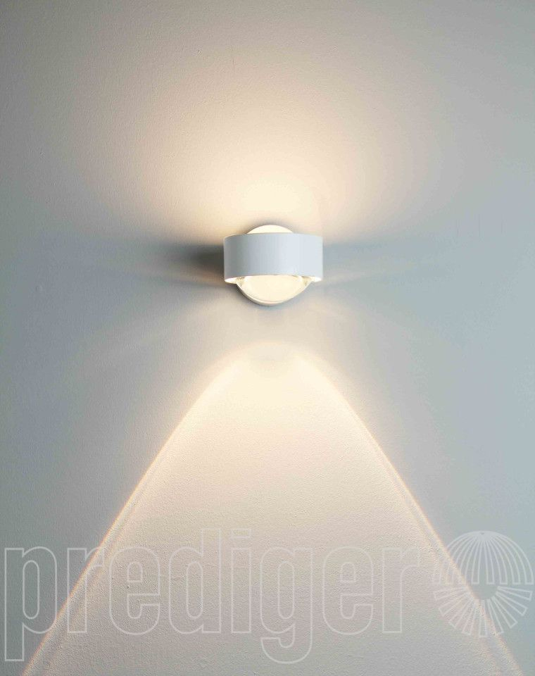Top Light Puk Wall LED Linse\/Glas Wandleuchten \/ Wall light - led leuchte badezimmer