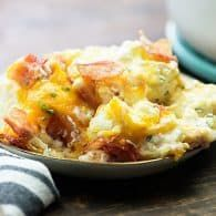 Loaded Cauliflower Bake — Buns In My Oven