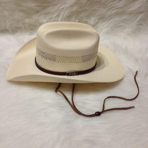 5b049e2692888 Stetson Cowboy Hat John B. Stetson Company Cowboy Hat. 100x Stetson  Authentic X s.