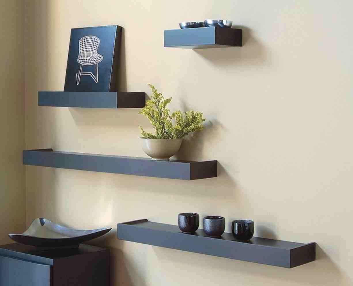 Delicieux Wall Shelves Ideas Living Room
