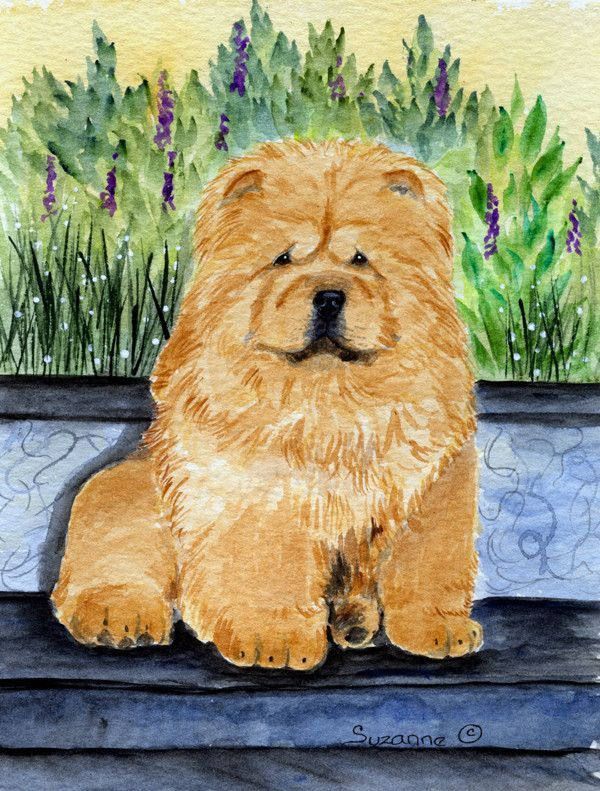 Chow Chow 2 Sided Garden Flag Products Chow Chow Garden Flags