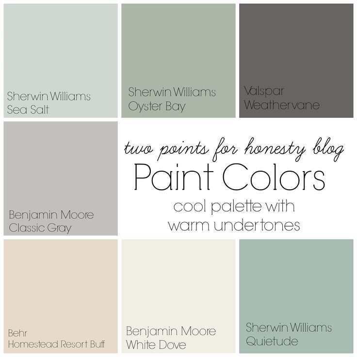 Captivating Two Points For Honesty: Whole House Paint Palette · Interior House  ColorsInterior ...