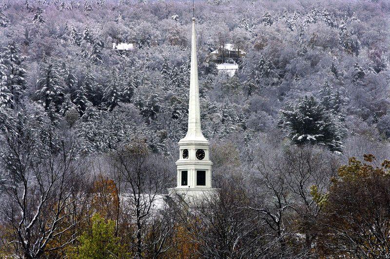 Church in snow - Google Search