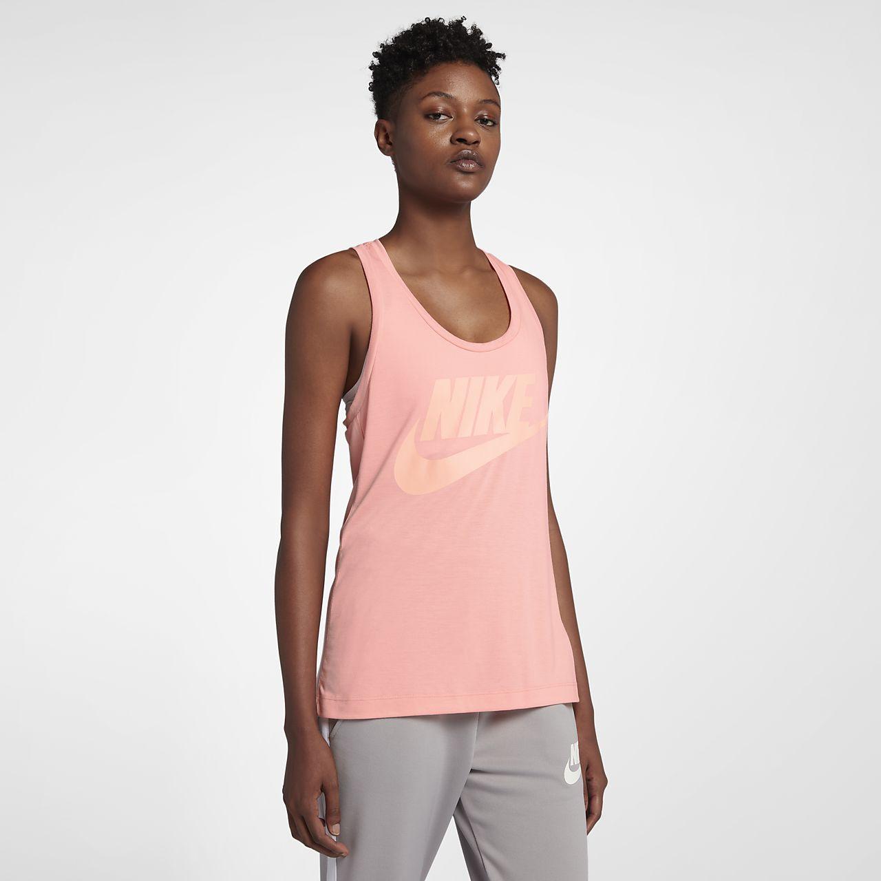 02258c5ec3 Nike Sportswear Essential Women's Logo Tank | Tops-Activewear ...