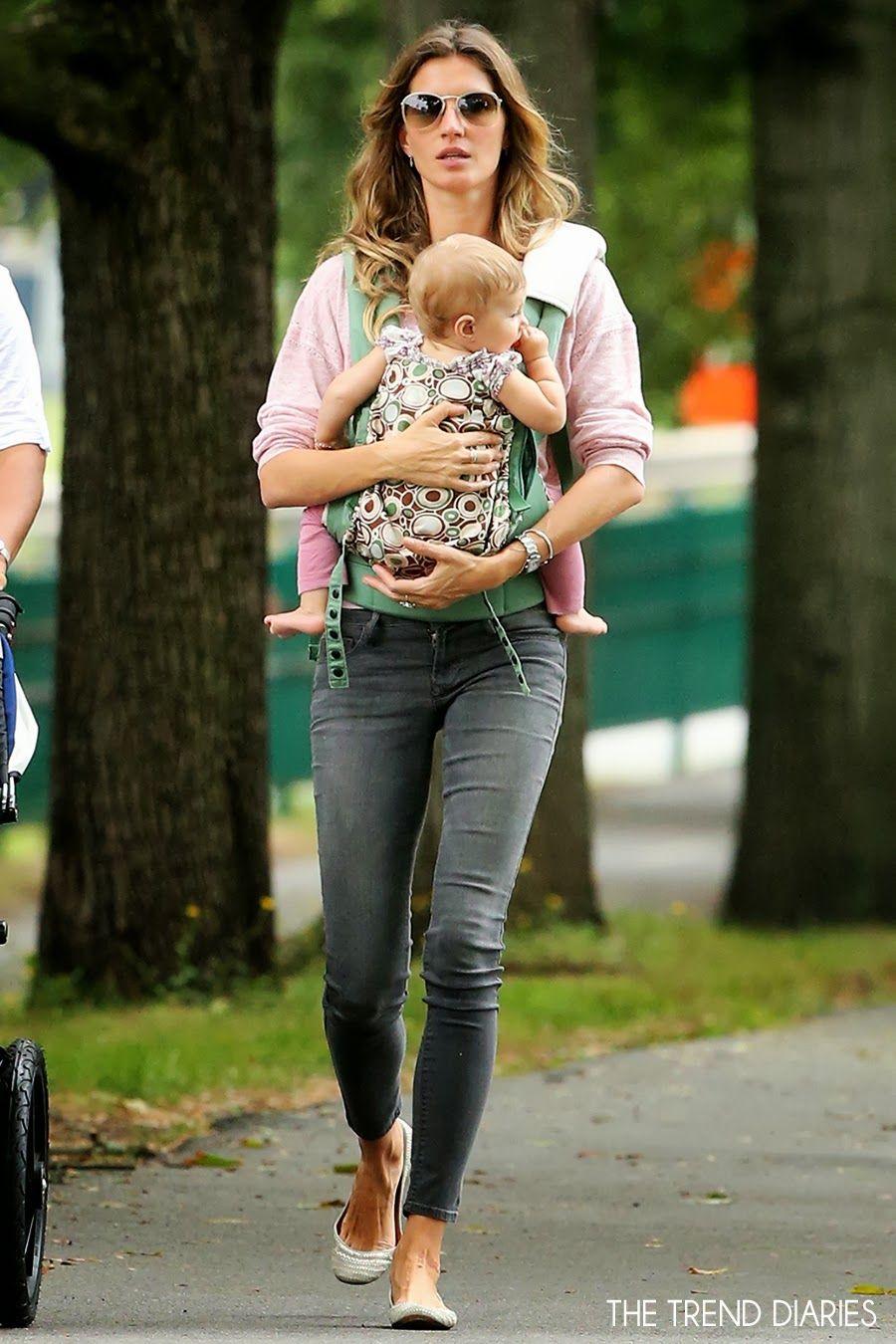 Gisele bundchen at a park in boston massachusetts september
