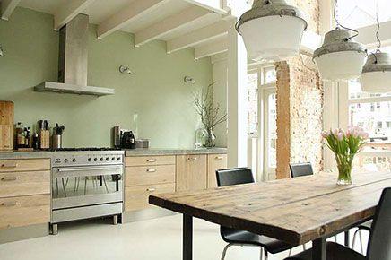 Industriele Keuken Rotterdam : Industriële keuken uit rotterdam decor pinterest kitchen
