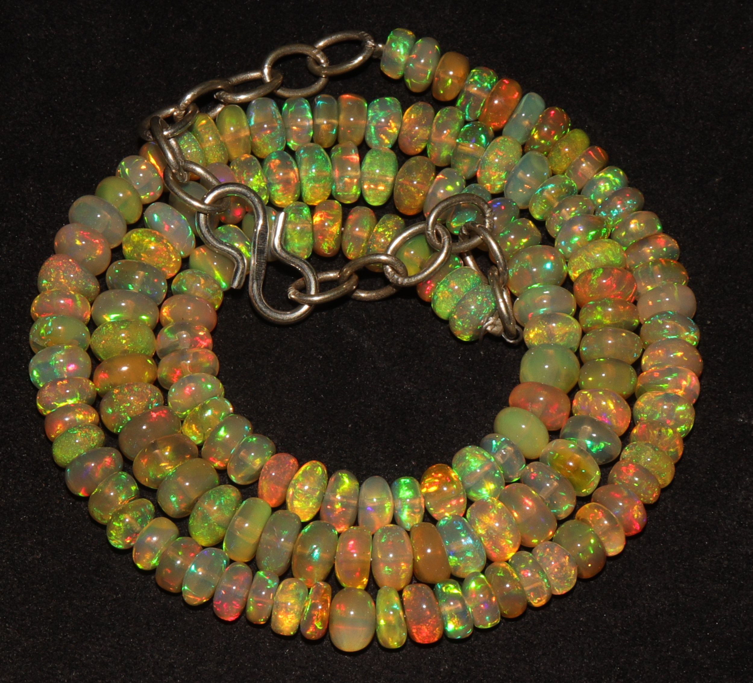 Pin on Beads Natural Ethiopian Welo Fire Opal