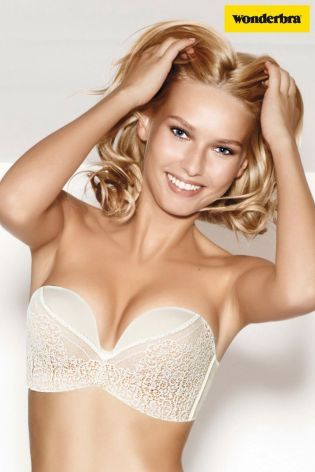 e1ce16a6ed WONDERBRA Ultimate Strapless Bra Ivory Lace 9469 32 34 36 38 A to G Cups  Best