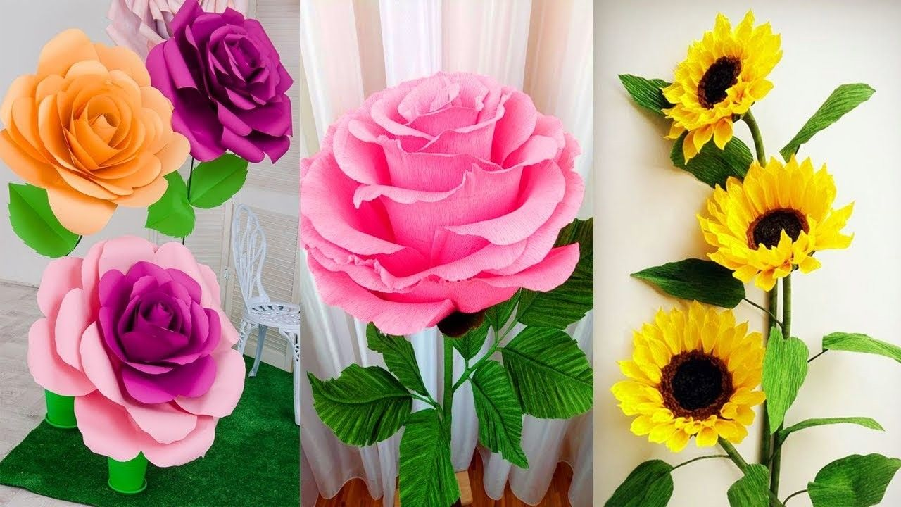 Origami Easy Paper Flower L Very Easy To Make L Paper Craft Ideas