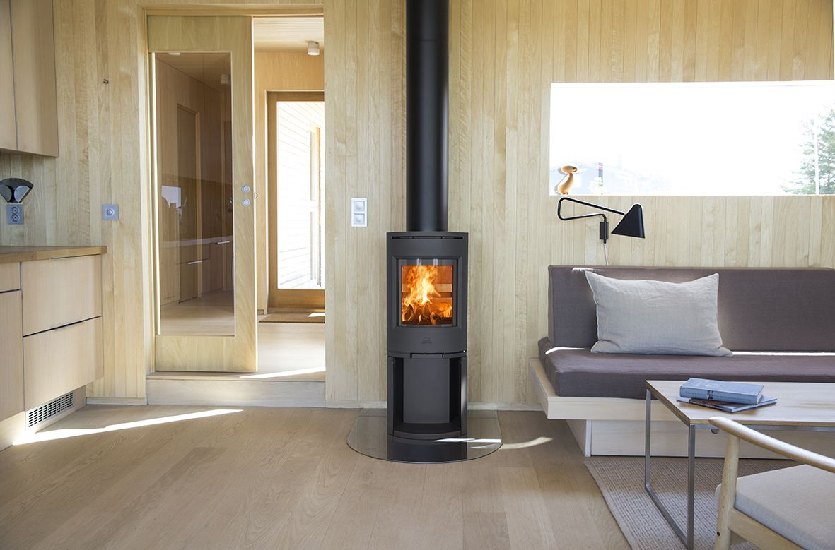 jøtul f 130 series is a modern and stylish designed woodstove for