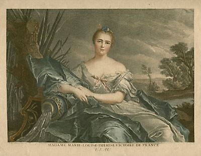 L'Eau - Madame Marie-Louise-Therese-Victoire de France