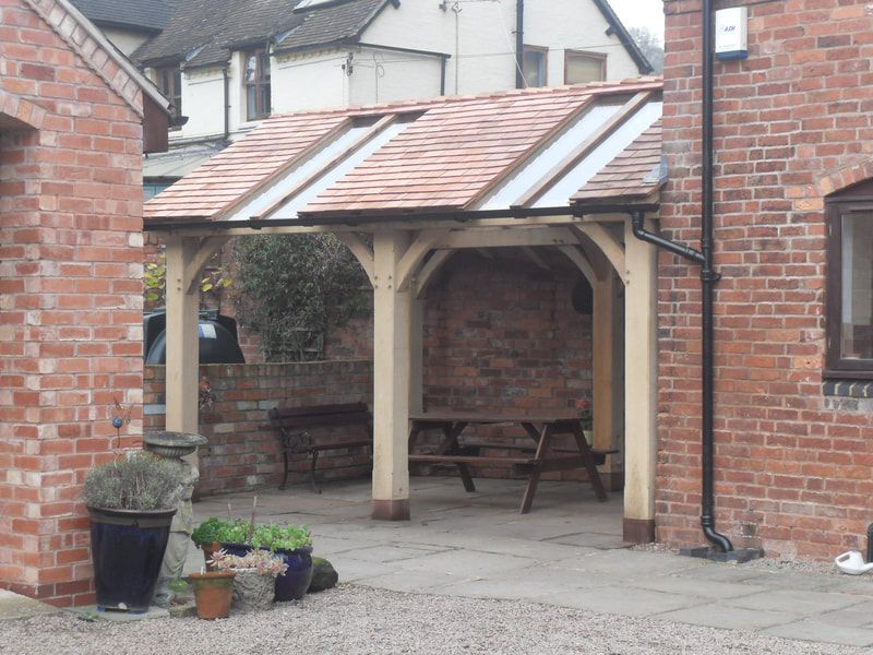 BBQ Areas & Oak Frame Gazebos