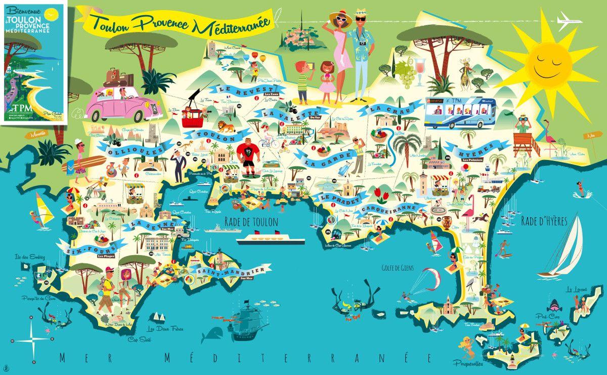 toulon map toulon france » [HD Images] Wallpaper For Downloads ...