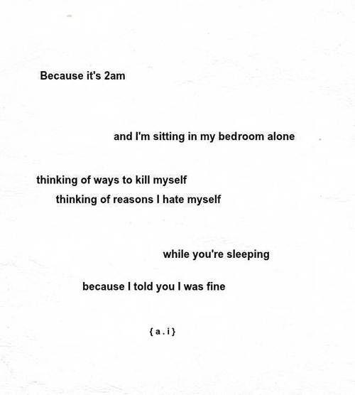 Poems About Depression Art Depressed Self