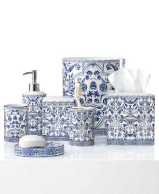 Damask Bath Accessory Collection Bath Accessories Bathroom