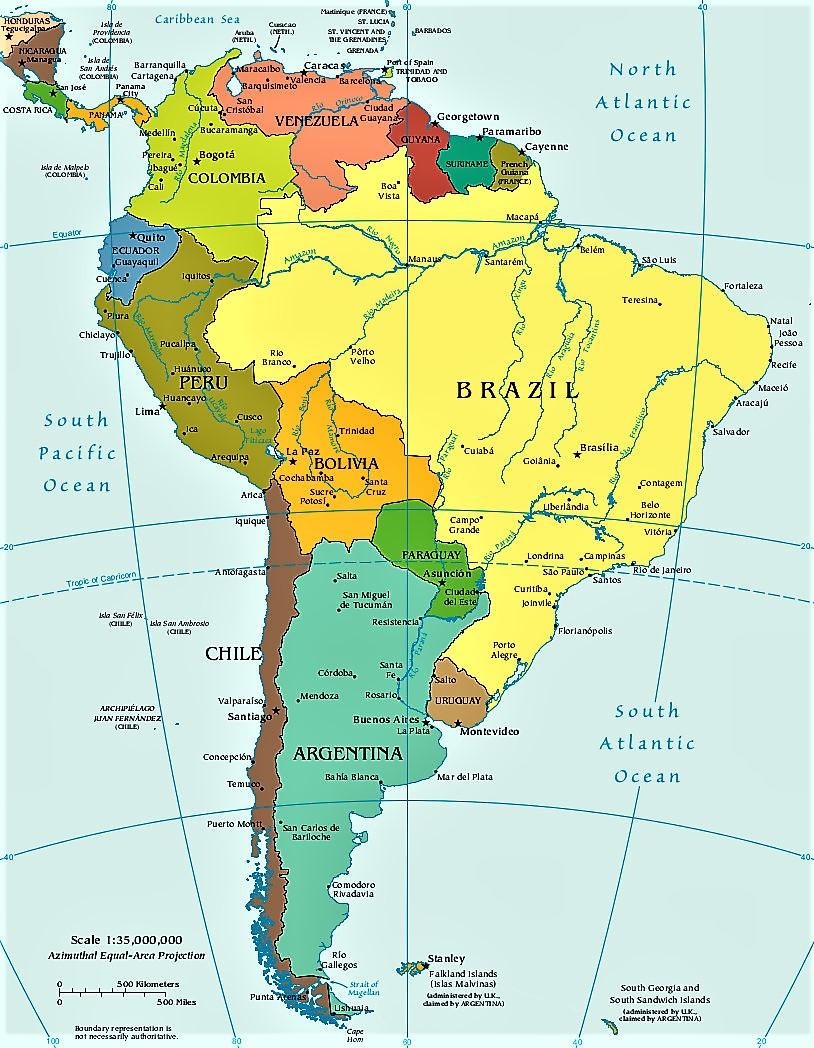 Mapa Geografico De Sudamerica.Mapa America Del Sur Mapas De Sudamerica Suramerica En 2020 Mapa De America Del Sur Mapa De America Mapa Politico De Chile