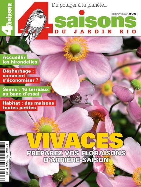 Les 4 Saisons Du Jardin Bio N 205 Mars Avril 2014 Les Saisons